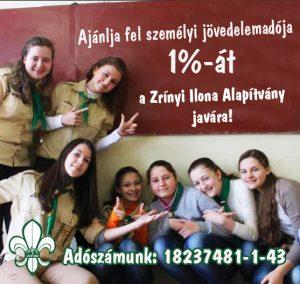 Adó 1 százalékának felajánása, Zrínyi Ilona Alapítvány