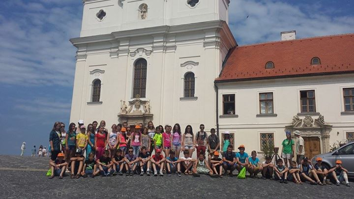 Cserkészen a Kárpátmedencében 2014 csoportkép