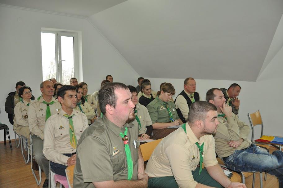 Kárpátaljai Magyar Cserkészszövetség tisztújító közgyűlése 2012